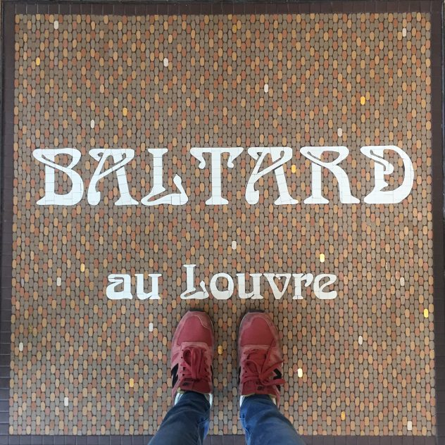 Baltard au Louvre mosaïque Mathilde Herrero