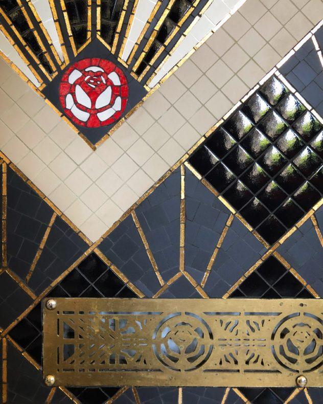 Mosaïque mosaique art déco deco brasserie tour eiffel Mathilde Herrero
